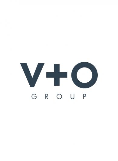 V+O Group logo
